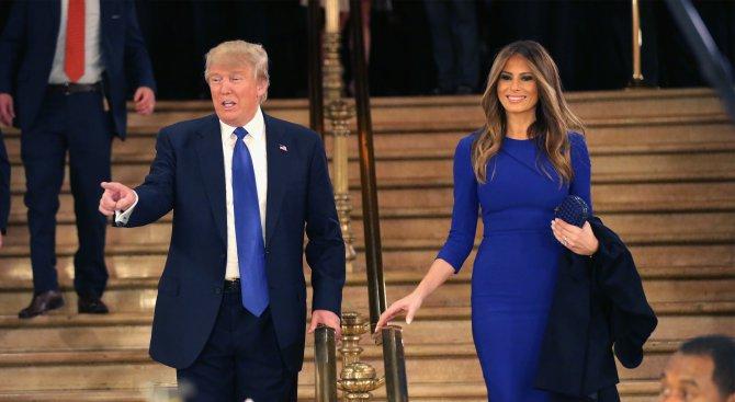 Никой не иска да облече Мелания Тръмп