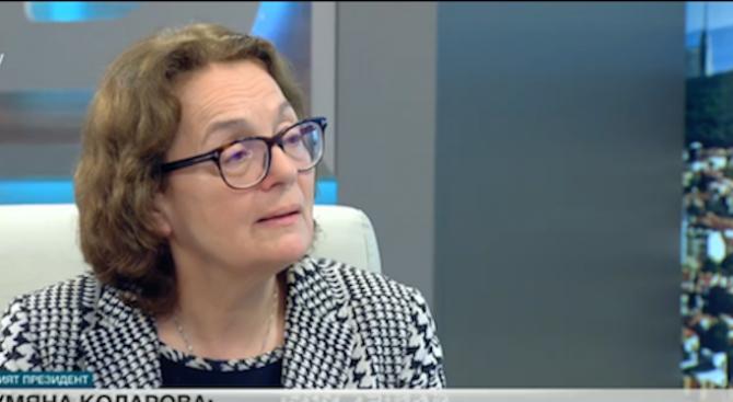 Румяна Коларова: Ябълката на Беновска е много евтина платена провокация