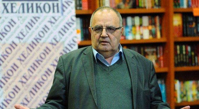 Божидар Димитров ще участва в телевизионната дискусия на Неделковски през март