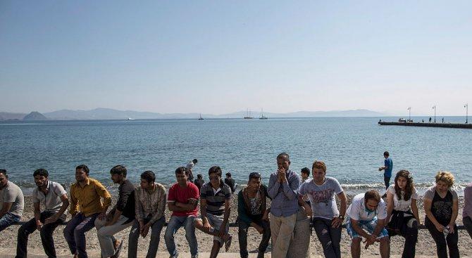 ЕС изработи план как да намали притока на имигранти през Средиземно море (снимки)