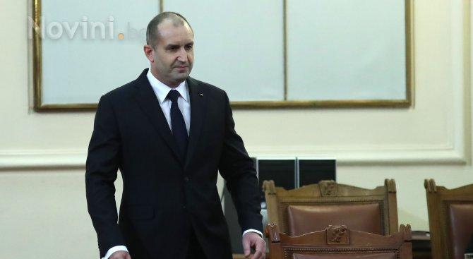 Румен Радев: За България е важно да се гарантира сигурността по всички външни граници на ЕС