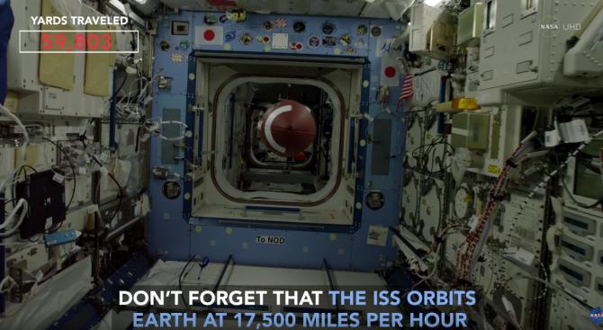 Астронавт рита топка в космоса (видео)