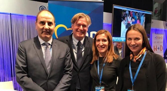 Цветанов се срещна с генералния секретар на ЕНП Антонио Лопес