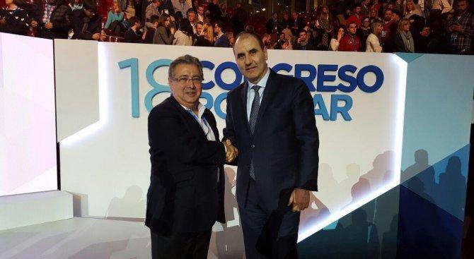 Испанският вътрешен министър поздрави Цветанов за високите отличия