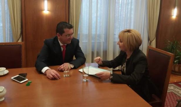 Министър Пламен Узунов се срещна с омбудсмана