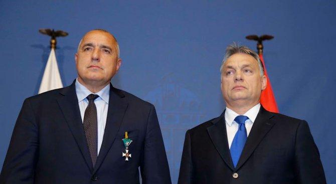 Орбан към Борисов: Надявам се да разчитам на Вашето приятелство и подкрепа в бъдеще