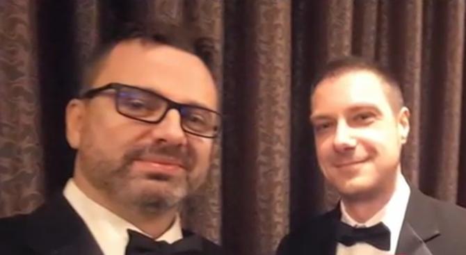 """Първият български """"Оскар"""" вече е в ръцете на притежателя си"""