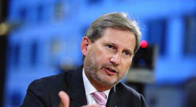 Йоханес Хан: Не съм правил негативни изявления по адрес на България