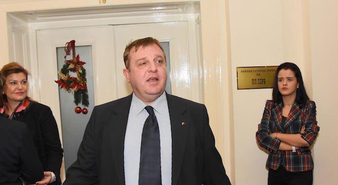 Каракачанов: Промяна на избирателната система не решава проблемите