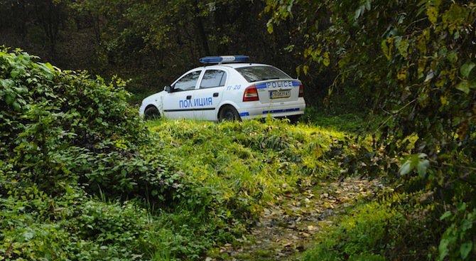 Свлачище затрупа парк в Благоевград