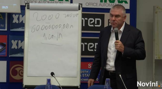 Марешки разкри каква е надценката на литър бензин у нас (видео)