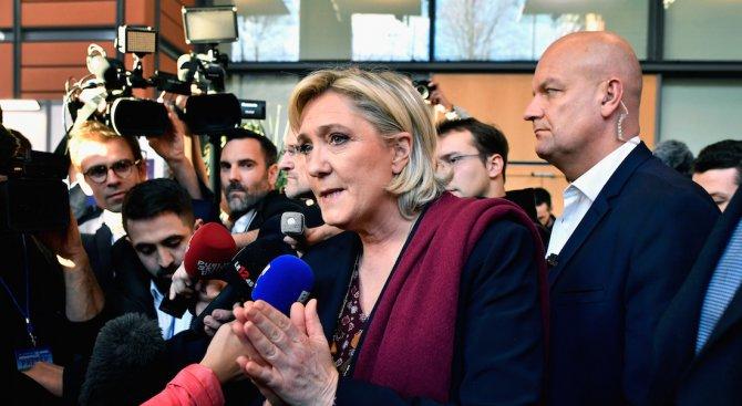 Марин льо Пен приключи визитата в Ливан с изявление в подкрепа на Башар Асад