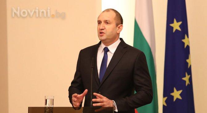 Румен Радев също коментира темата за ученията на НАТО в Черно море