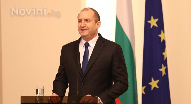 Румен Радев на среща с еврокомисаря по промишленост