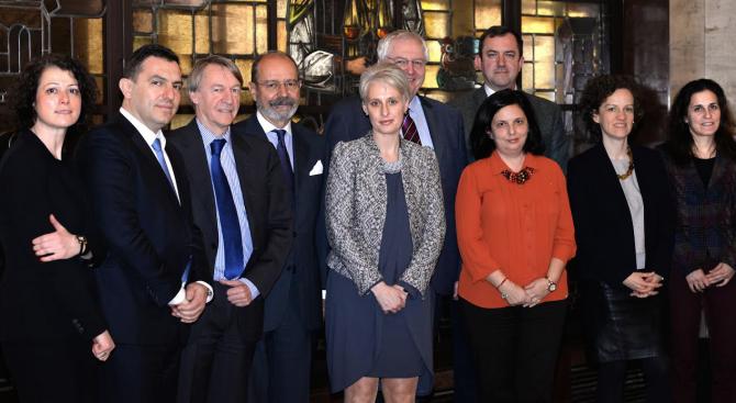 Министър Павлова се срещна с посланици на страни-членки на ЕС