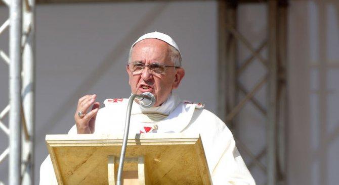 Папа Франциск ще се срещне с лидерите на ЕС