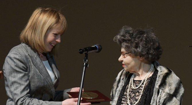 Стоянка Мутафова с нова награда за принос в актьорството (снимки)
