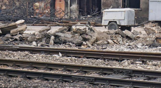 Започна ремонт на гарата в Хитрино
