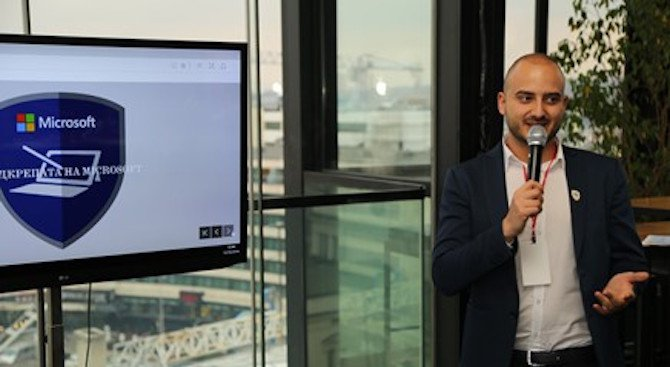 Росен Ралчев получи престижна награда от Microsoft