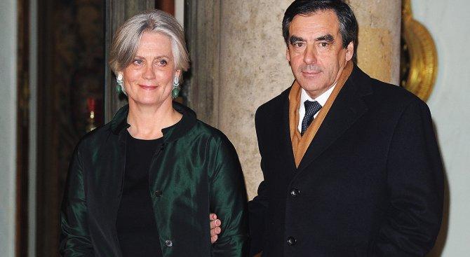 Обвиниха съпругата на Фийон за злоупотреба с държавни пари