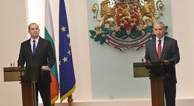 Радев и Герджиков се срещнали извънредно след изборите