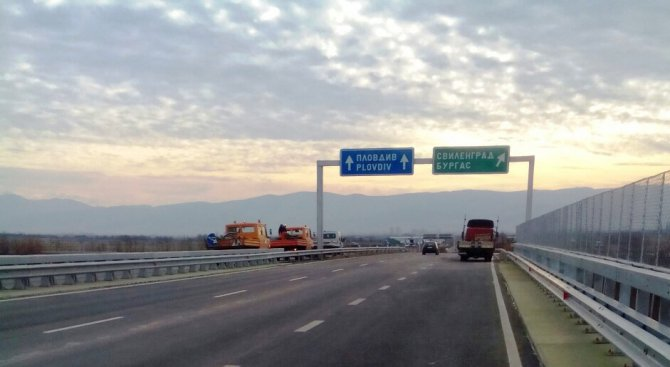 Ремонтират моста над река Мараш