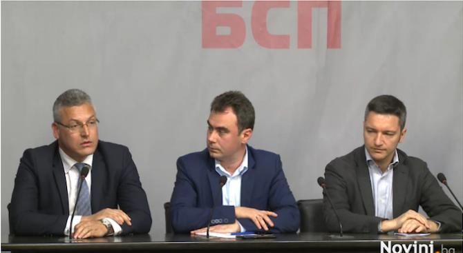 БСП: Сидеров преговаря за участие във властта - мълчанието на гражданите е необяснимо (видео)