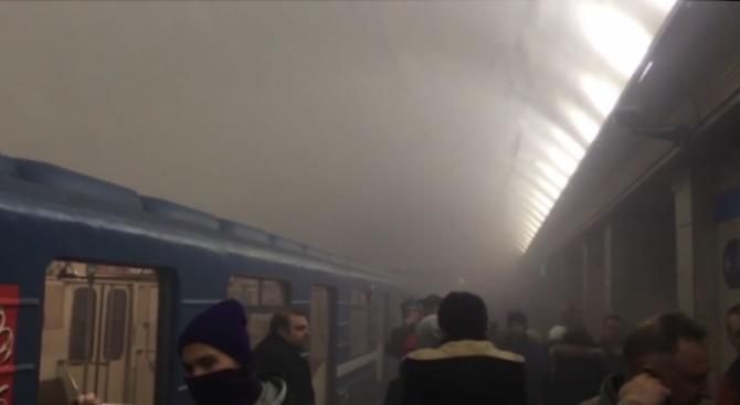 Вижте каква е била мощността на обезвредената бомба в метрото на Санкт Петербург