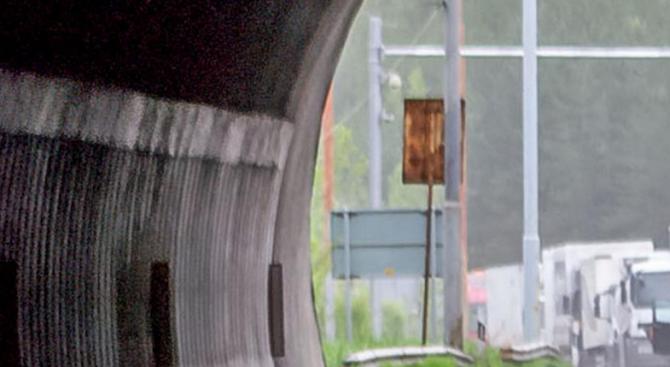 Чистят едната лента в тунела до Дряновския манастир, шофьорите да бъдат внимателни
