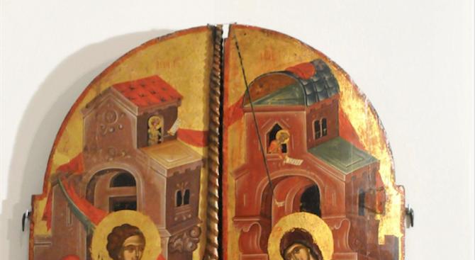 "Икона от Божи гроб ще краси новоизграждащия се храм ""Благовещение"" в Радомир"