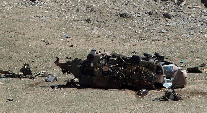 Турски хеликоптер с 12 души на борда падна. Никой не оцеля