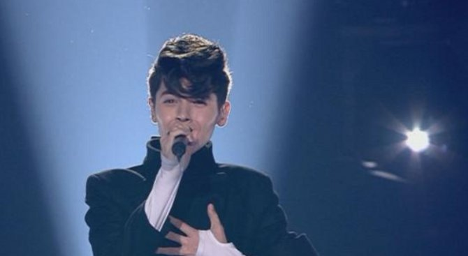 Кристиан грабна второто място на Евровизия!