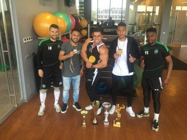 Фитнес треньор на Лудогорец стана европейски шампион по културизъм (снимки)