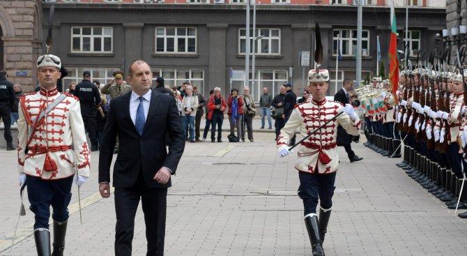 Радев: Историята много ясно сочи България като родината на славянската цивилизация и култура