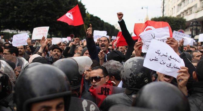 Сблъсъци в Тунис