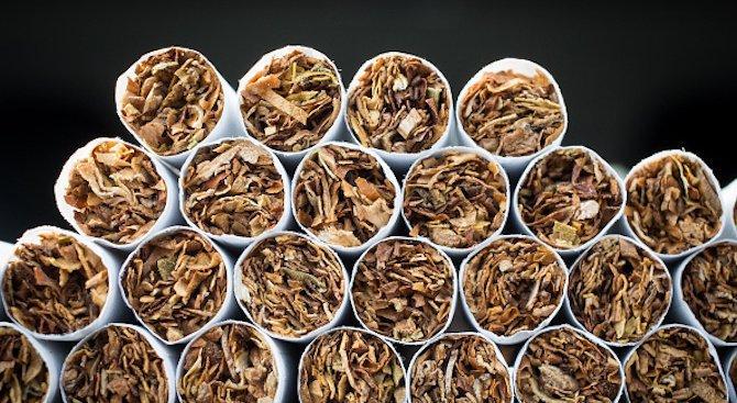 Спипаха голямо количество тютюн и нелегални цигари