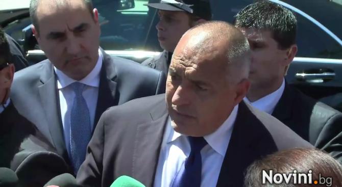 Борисов: Нямаме конфликт с Радев за изтребителите, пехотата е царицата на боя (видео)