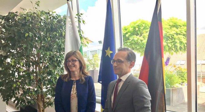 Германският правосъден министър: Всички в ЕС виждат напредъка на България в съдебната реформа (снимк