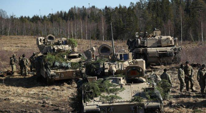 Големи военни учения на НАТО започнаха в Латвия