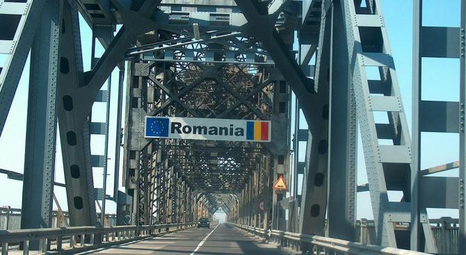"""3 км колона от автомобили на """"Дунав мост'"""""""