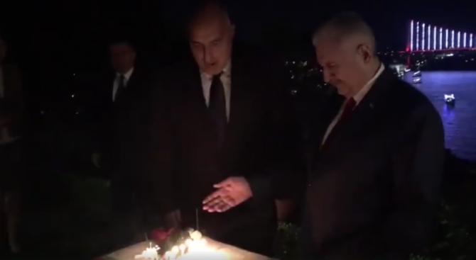 Вижте как Йълдъръм изненада Борисов вчера (снимка+видео)