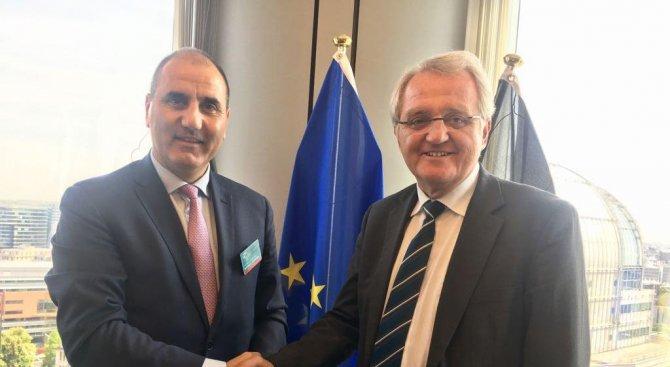Цветан Цветанов се срещна със заместник-председателя на Европарламента Райнер Виланд