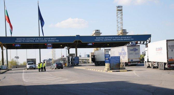 Блокират временно движението при Видин-Калафат