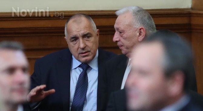 Бойко Борисов: Винаги сме правили всичко възможно полицаите да имат необходимата подкрепа