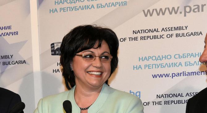 Корнелия Нинова: От БСП бихме назначили веднага 1000 нови полицаи заради битовата престъпност