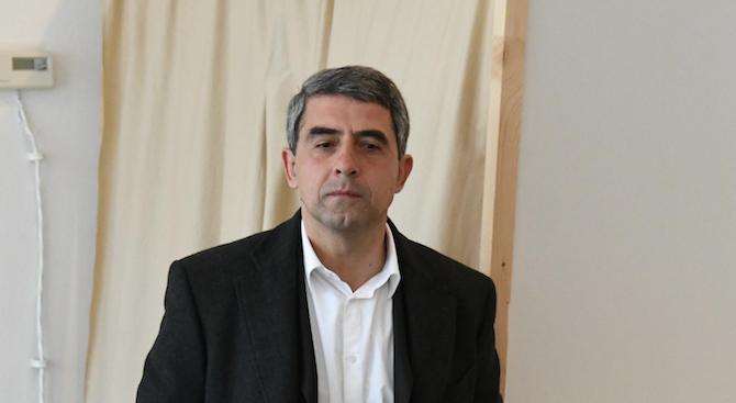 Плевнелиев: Президентската институция трябва да бъде център на баланса, а не властови център
