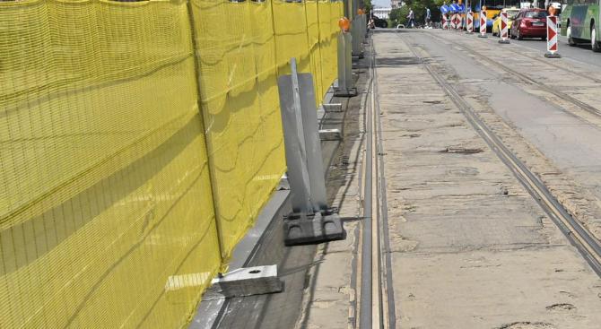 Продължават ремонтите на ключови булеварди в София