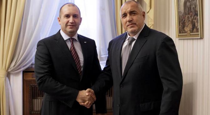 Вижте за какво са се разбрали Борисов и Радев на вчерашната им среща