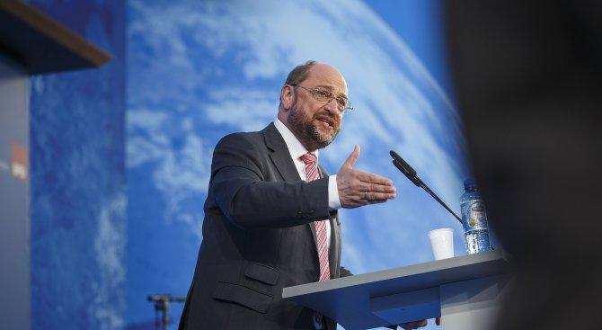 Мартин Шулц: Eврозоната има нужда от общ бюджет