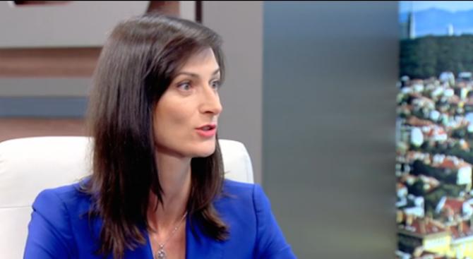 Мария Габриел: Няма абсолютно никакъв риск да ни отнемат председателството на ЕС